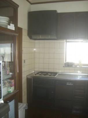 キッチン全景 ecs