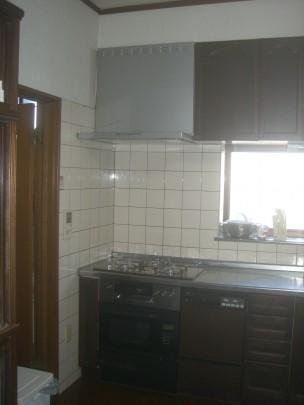 新キッチン ecs